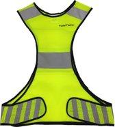 Tunturi Hardloop veiligheidsvest -  X-shape Running Vest - Reflecterend - Maat M