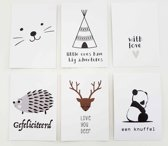Fabs World postcard set Every Moment