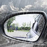 KELERINO. Buitenspiegel Folie - Anti Mist en Weerspiegeling - 2 Stuks