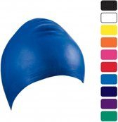 Latex badmuts Blauw