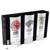 GAME OF THRONES - 3 glasses set