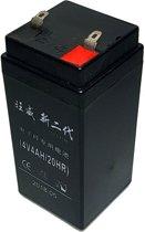 Gel NP4-4 loodaccu 4 volt 4Ah weegschaal accu batterij oplaadbaar