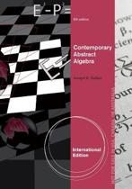 Contemporary Abstract Algebra, International Edition