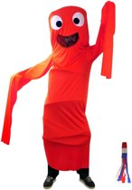Funny windsock rood one size