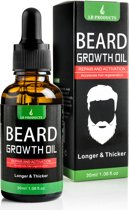 Baardgroei Olie |Baard olie | Groei | Baardolie | Baard Verzorging | Beard Growth Oil | Anti Haaruitval | Anti Hairloss |