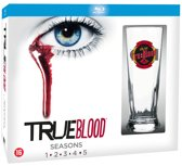 True Blood - Seizoen 1 t/m 5 (Inclusief True Blood glas!) (Blu-ray)