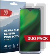 Rosso Motorola Moto G7 Ultra Clear Screen Protector Duo Pack