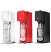 Sodastream Spirit Bruiswatertoestel - Zwart - Wit - Rood - Inclusief CO2-Cilinder -
