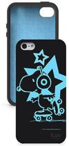 ILuv - Snoopy Glow in the Dark Case - iPhone 5 / 5s - Zwart