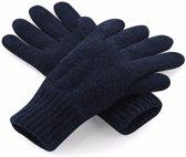 Classic thinsulate handschoenen navy S/m