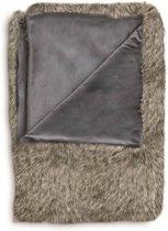 Heckett & Lane Makani - Plaid - 140x200 cm - Grey