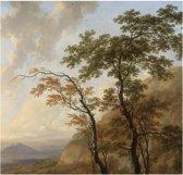 Golden age landscapes, fotobehang van KEK Amsterdam, WP-387, 6 baans behang