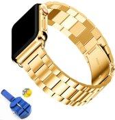 AA Commerce Schakel bandje - Apple Watch Series 4 (44mm) - Goud