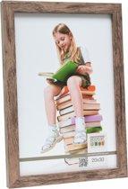 Deknudt Frames Blokprofiel in bruine houtkleur fotomaat 50x60 cm