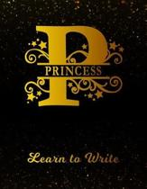 Princess Learn To Write