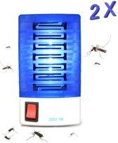 2 STUKS Elektrische Muggenlamp LED - Insectenlamp - Insectendoder 2019 - 220 VOLT - Nachtlamp