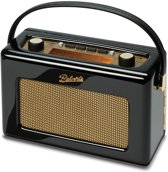 Roberts Radio Revival RD60 DAB+ Piano Black