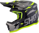 Shot Kinder Crosshelm Furious Score Grey/Neon Yellow-M