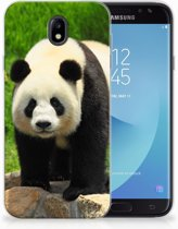 Samsung Galaxy J7 2017   J7 Pro TPU siliconen Hoesje Design Panda
