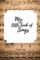 My little book of Songs