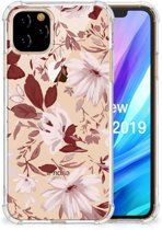 Back Cover Apple iPhone 11 Pro Watercolor Flowers