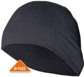 2 stuks - hoofdwarmer voor onder helm - Muts hardlopen - Vivasport