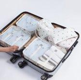 Packing Cubes Set - Koffer Organizer - Set van 7 - Inpak kubussen - Opbergzakken voor Koffer & Backpack - Cactus