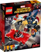 LEGO Super Heroes Iron Man Detroit Steel Valt Aan - 76077