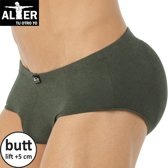 Alter Padded Butt Slip - Groen - Large