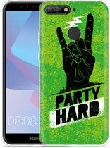 Huawei Y6 2018 Hoesje Party Hard 3.0