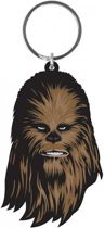 Merchandising STAR WARS - Rubber Keyring - Chewbaca 6 Cm