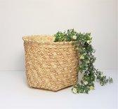 Natural Rieten Mand Palmyra Woven Straw Basket XL