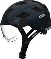 Helm ABUS Hyban+ transp vizier midnight blue M (52-58cm)72638
