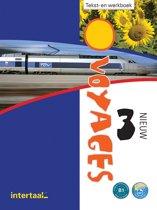 Boek cover Voyages - nieuw 3 tekst-/werkboek + online MP3s van Guilaine (Paperback)
