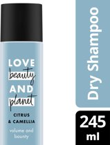 Love Beauty and Planet Droogshampoo Volume and Bounty - 245 ml - Citrus  & Camellia