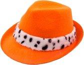Oranje Trilby koning hoed