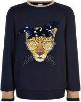 The New Meisjes sweaters The New Sweaters zwart 170/176