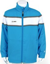 Jako Woven Jack Player Junior - Sportshirt - Kinderen - Maat 128 - Azur Blue;White