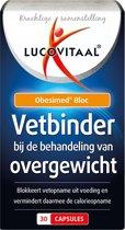 Lucovitaal vetbinder overgewicht - 30 capsules - Voedingssupplement