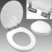 Toiletbril, toilet zitting, softclose, wc bril, wit