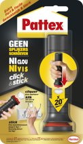 Pattex Click & Stick Montagekit - 6x30 Gram