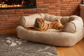 Snoozer Pet Products - Overstuffed sofa - Hondenbed - S Peat - 81cm