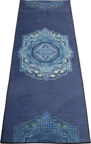 JAP Sports Yoga Handdoek - 1,85x70 cm - Incl. Opbergtas - Paars