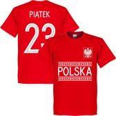 Polen Piatek 23 Team T-Shirt - Rood - XL