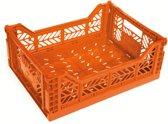 Surplus Klapbox midi - 40 x 30 cm - 14,5 l - Oranje