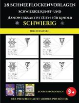 Ideen basteln 28 Schneeflockenvorlagen - Schwierige Kunst- und Handwerksaktivit ten f r Kinder