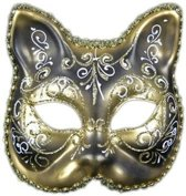 Venetiaanse kat klassiek masker