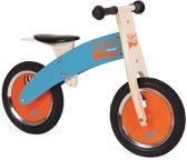 Janod Loopfiets Bikloon - Blauw en Oranje