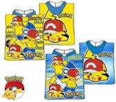 Pokemon bad poncho  50 x 100 Blauw