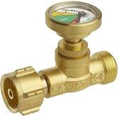 GasStop Gasfleszekering voor propaangasflessen DE 21,8mm LH (G.12) GSDE1